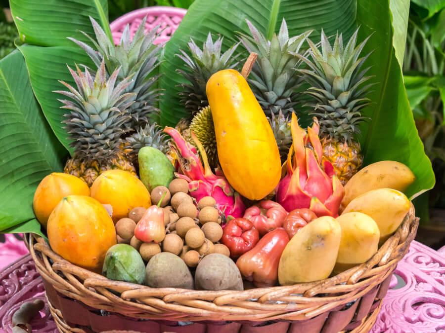 沢山の果物